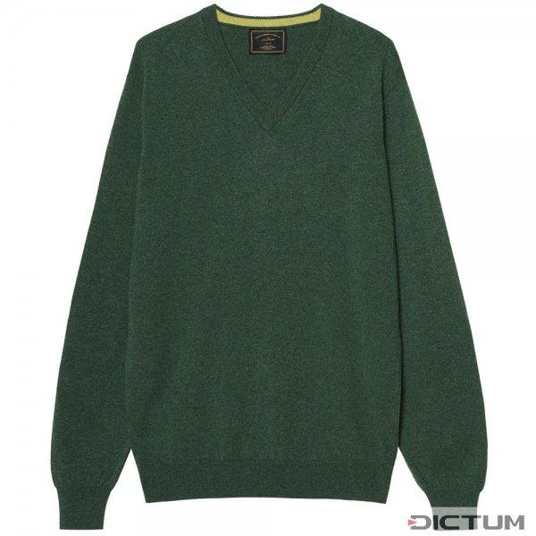 Purdey Kaschmir-Pullover, lodengrün, Größe M