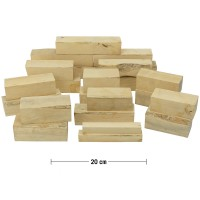 Boxwood Squares Assortment, 4.5 kg