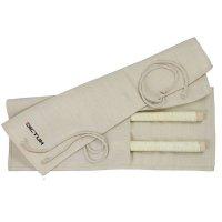 Sacoche enroulable en jute pour scies japonaises, taille 2