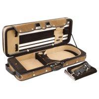 Pro-Case Kofferetui, Viola 15 - 16,5, braun/braun-beige