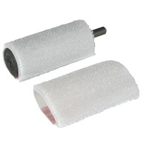Polishing Brush Sleeves for No. 130, 2 Piece-Set, cylindric Ø 28 x 80 mm