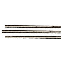 Einlegespäne Satz, gerade, Fiber-Ahorn-Fiber, Bass, 0,5/1,4/0,5 x 2,4 mm