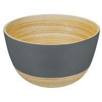 Bamboo Bowl BiMa, Large, Dark Taupe