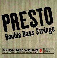 Presto Nylonwound Srings, Bass 3/4, Set