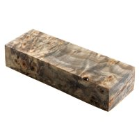 Raffir Stabilised Poplar Burl, Black