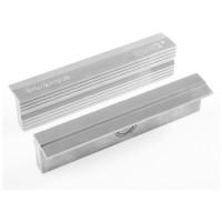 Heuer Magnefix Schutzbacken, Aluminium mit Rillen