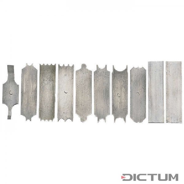 Replacement Blades for Lie-Nielsen Beading Tool No. 66, 10-Piece Set