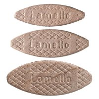 Lamelles en bois Lamello, mixte, 1000 pièces