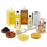 Natural Finishing Supplies Starter Kit, 11-Piece Set