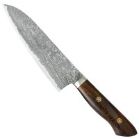Katsuhiro Hocho, Desert Ironwood Handle, Santoku, All-purpose Knife