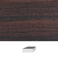 Rosewood, 150 x 150 x 50 mm