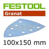 Festool Schleifblätter STF Delta/7 P 80 GR/10