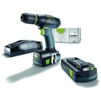 SPECIAL OFFER: Festool Cordless Drill T 18+3 Li 3.1-Compact S Special Edition
