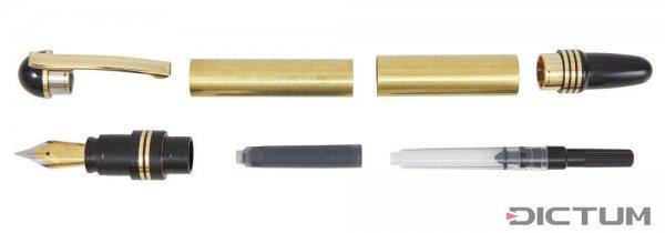Füllfederhalter-Bausatz Leroy, gold, 1 Stück