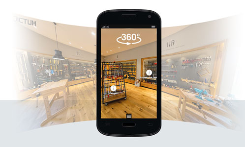 Virtuellen Rundgang Shop Plattling
