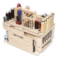 Porte-outils DICTUM » Aménagement int., menuiserie «, garni, 43 pièces