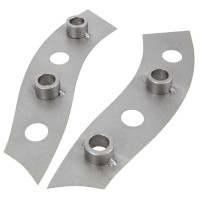 Herdim Drilling Template for Double Bass Necks, 2-Piece Set