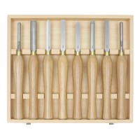 Hattori HSS Turning Tools, Midi, 8-Piece Set