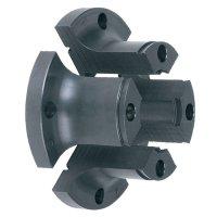 Mâchoires de serrage cylindriques rallongées Axminster Ø 25 mm