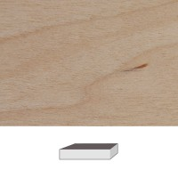 Birch, 150 x 40 x 40 mm
