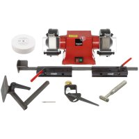 Sharpening Set for Turning Tools with Optigrind CBN Grinding Wheel