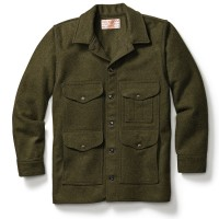 Filson Mackinaw Wool Cruiser, Forest Green, Größe XL