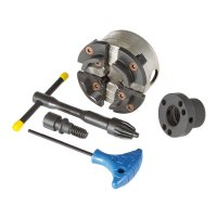 Oneway Chuck, Talon with Premium Profiled Jaws Size 2, 1 Inch Adapter