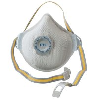 Moldex Dust Mask FFP3, 5 Pieces