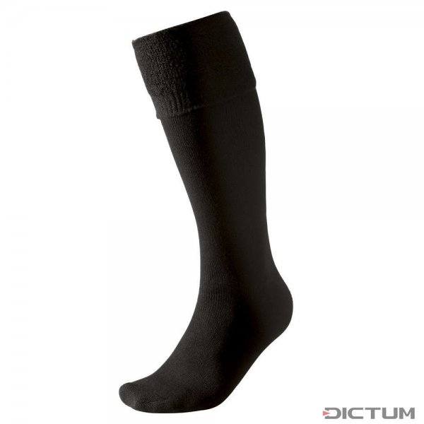Chaussettes montantes Woolpower, noir, 400 g/m², taille 36-39