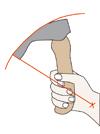 Imagen 4: El uso del filo