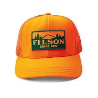 Filson Logger Mesh Cap, Blaze Orange