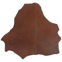 Peau de kangourou, brun moyen, 55-70 dm²