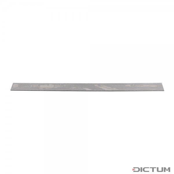 Flat Steel 1.2067, 102Cr6, 1000 x 30 x 2.3 mm