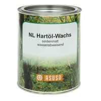 ASUSO NL Hard Oil Wax, Water-repellent, Silk Matt, 750 ml