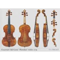 Póster, violín, Giuseppe Guarneri del Gesù, »Plowden« 1735