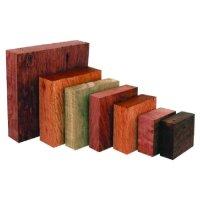 Pièces brutes de bois précieux australiens, pour récipients creux, 5 kg