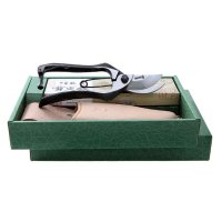 Gift Set Pruning Shears and Leather Sheath