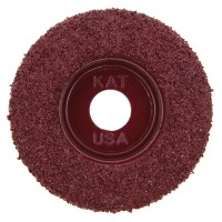 King Arthur's Tools Carbide Abrasive Disc, Flat Profile, Fine