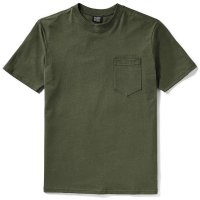 Filson Short Sleeve Outfitter SolidOne-Pocket T-Shirt, Otter Green, taille L