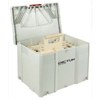 Systainer T-LOC with DICTUM Tool Carrier »Cabinet making, Int. Work«, empty
