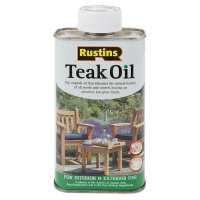Rustins Teak Oil, Food-safe, 250 ml