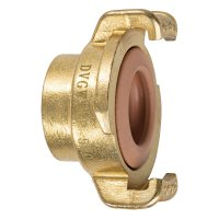 Geka Quick Coupling for Tap, ¾ Inch, Brass, Drinking Water