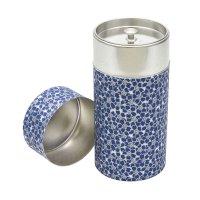 Boîte à thé papier, bleu
