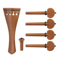 c:dix Selection Set, Boxwood, Black Trim, 6-Piece Set, Viola, Medium