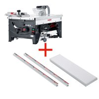 SET: MAFELL ERIKA 85 Ec with Extensiontable, 2 Supporting Rails, 1000 mm