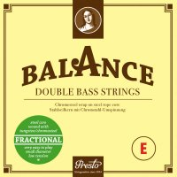 Presto Balance Fractional Strings, Bass 1/4, Set
