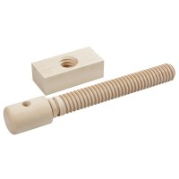 Lake Erie Toolworks, Wood Vice Screw, presse d'établi, Basic