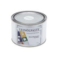 Pâte d'huile de lin, RAL9010, blanc pur
