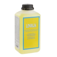 Linolja Organic Swedish Linseed Oil, Cold-Bleached, 1 l