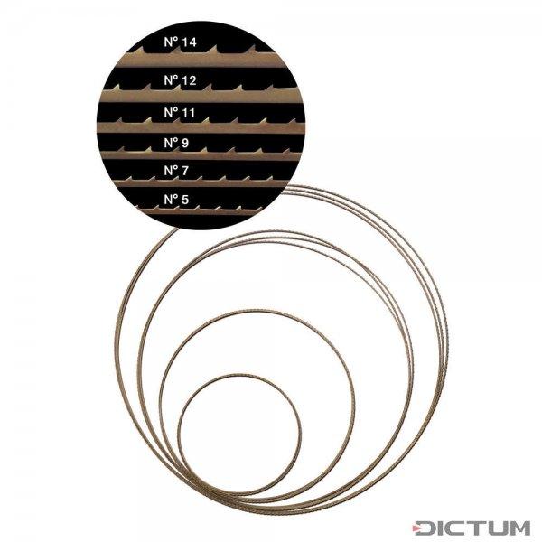 Pégas Feinschnitt-Sägeband Nr. 5, 2375 x 1,02 mm, ZT 1,88 mm
